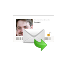 E-mail met een  medium uit Amsterdam